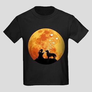 Flat-Coated Retriever Kids Dark T-Shirt