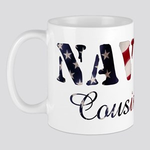 Navy Cousin Flag Mug
