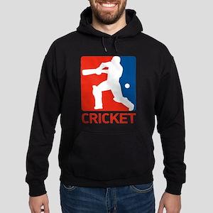 cricket player Hoodie (dark)