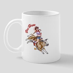 YeeHaw Cowgirl Pinup Mug
