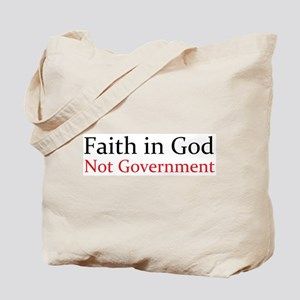 Faith in God Tote Bag