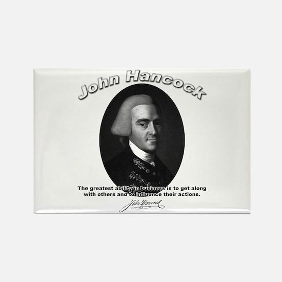 John Hancock 01 Rectangle Magnet (100 pack)