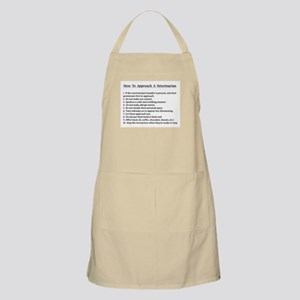 Approaching A Veterinarian Light Apron