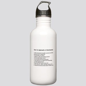 Approaching A Veterinarian Water Bottle