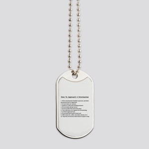 Approaching A Veterinarian Dog Tags