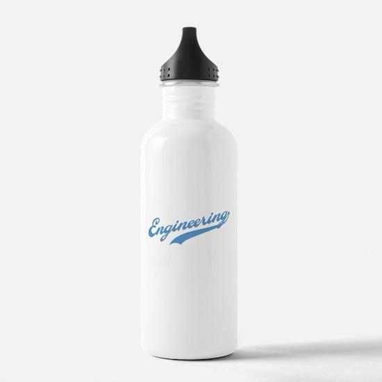 Engineering Swoosh (blue) Water Bottle