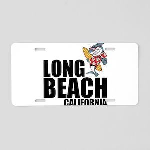 Long Beach, California Aluminum License Plate
