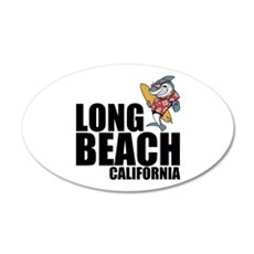 Long Beach, California Wall Decal