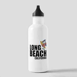 Long Beach, California Water Bottle