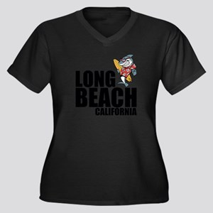 Long Beach, California Plus Size T-Shirt
