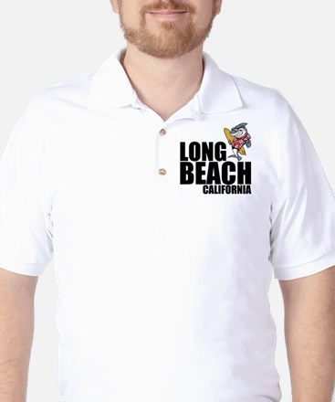 Long Beach, California Golf Shirt