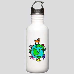 Animal Planet Rescue Stainless Water Bottle 1.0L