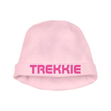 Pink Star Trek Trekkie Baby Hat For Girls