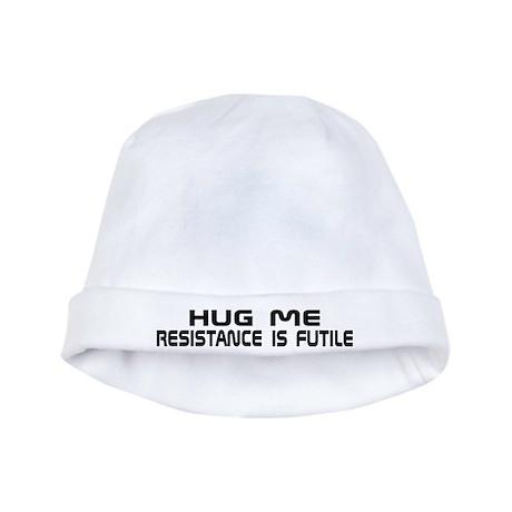 Resistance Hug Me Funny Star Trek Baby Hat