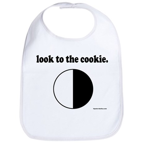 """""""Look to the Cookie"""" Bib"""