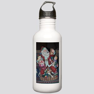 Vintage Santa Claus Stainless Water Bottle 1.0L