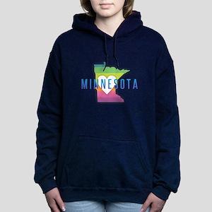 Minnesota Heart Rainbow Sweatshirt
