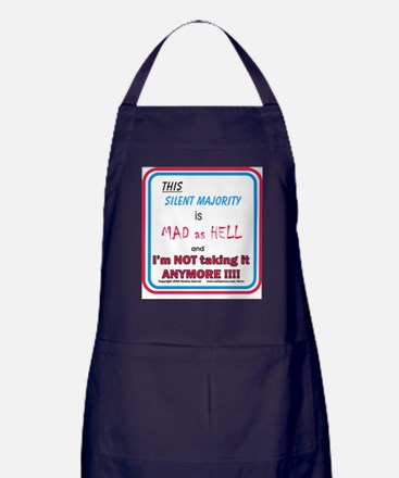 I'm MAD as HELL Apron (dark)