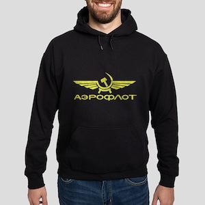 Vintage Aeroflot Hoodie (dark)