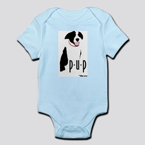 Border Collie Pup Infant Creeper