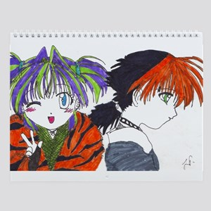 Assorted Art Work Calendar