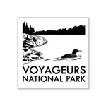 Voyageurs National Park Loon Sticker