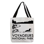 Voyageurs National Park Loon Polyester Tote Bag