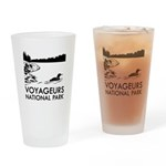 Voyageurs National Park Loon Drinking Glass