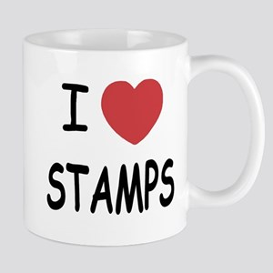 I heart stamps Mug