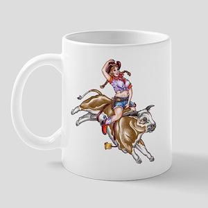 Cowgirl Pinup Mug