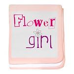 Flowergirl baby blanket