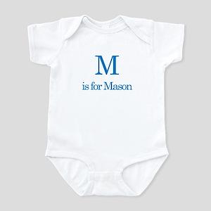 M is for Mason Infant Bodysuit