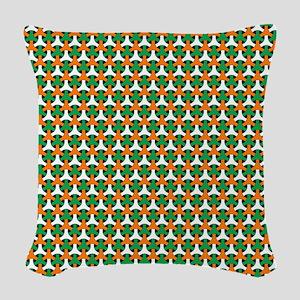 Celtic Pattern Woven Throw Pillow