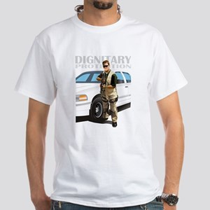 Dignitary Protection White T-Shirt