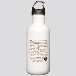Shakespeare Insults Stainless Water Bottle 1.0L