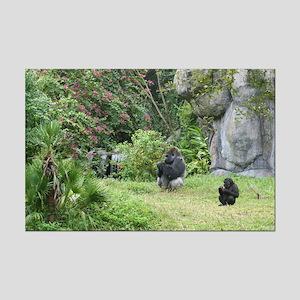 Mini Poster Print-Gorillas