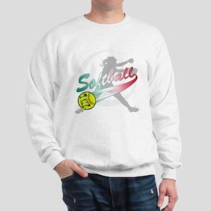 Girls Softball Sweatshirt
