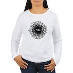 Butterflies Women's White Long Sleeve T-Shirt