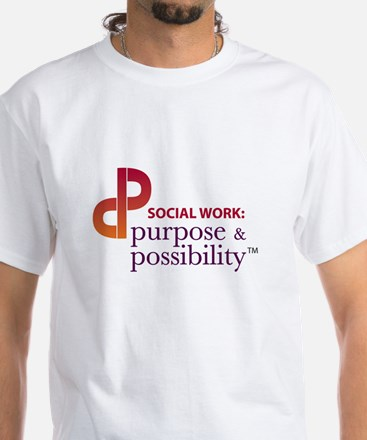 Purpose and Possibility White T-Shirt