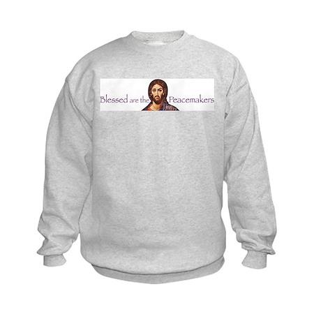 Blessed Peacemakers Kids Sweatshirt