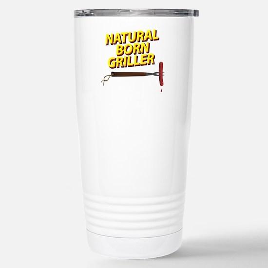 Natural Born Griller Stainless Steel Travel Mug