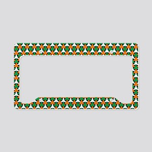 Celtic Pattern License Plate Holder