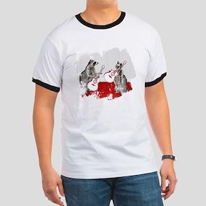 Raccoons Playing Guitar T-Shirt