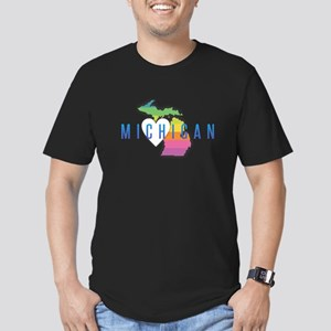 Michigan Heart Rainbow T-Shirt