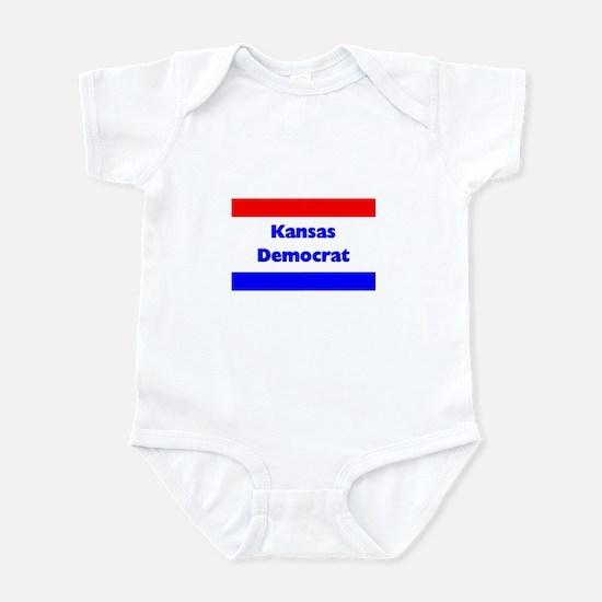 Kansas Democrat Infant Creeper