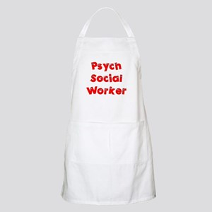 Psych Social Worker BBQ Apron