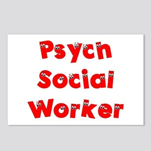 Psych Social Worker Postcards (Package of 8)