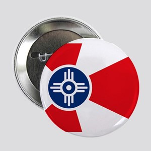 "Wichita City Flag 2.25"" Button (10 pack)"