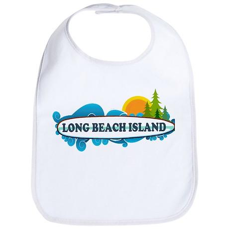 Long Beach Island NJ - Surf Design Bib