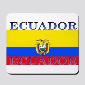 Ecuador Ecuadorian Flag Mousepad